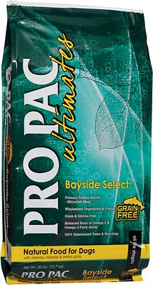 Pro Pac Ultimates Bayside Select Fish & Potato Grain-Free Dry Dog Food, 5-lb