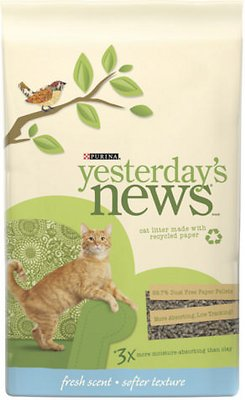 Yesterday's News Softer Texture Fresh Scent Cat Litter
