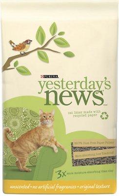 Yesterday's News Original Formula Cat Litter, 15-lb bag