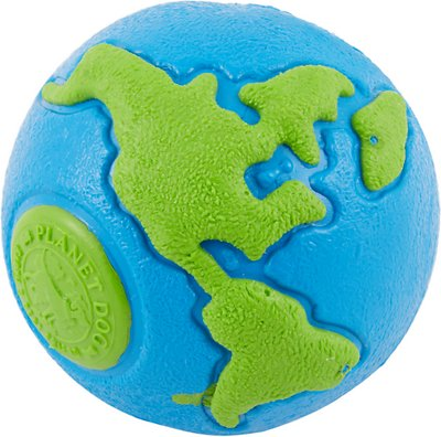 Planet Dog Orbee-Tuff Orbee Ball, Blue/Green, Large