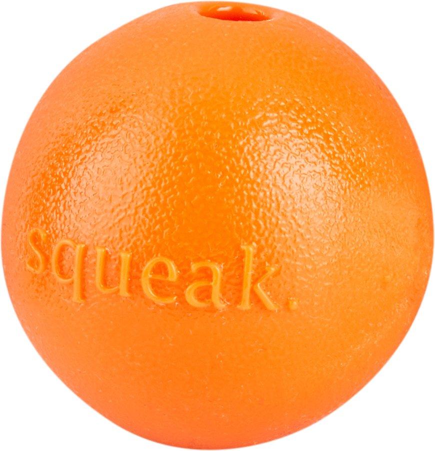 Planet Dog Orbee-Tuff Squeak Ball Dog Toy, Orange