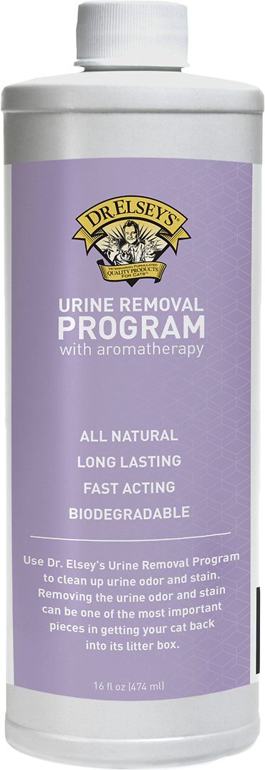 Dr. Elsey's Precious Cat Urine Removal Program with Aromatherapy, 16-oz bottle Image