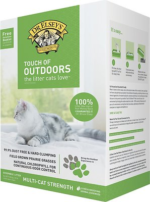 Dr. Elsey's Precious Cat Touch of Outdoors Cat Litter, 20-lb box