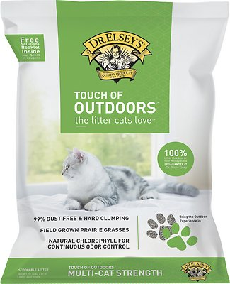 Dr. Elsey's Precious Cat Touch of Outdoors Cat Litter, 40-lb bag