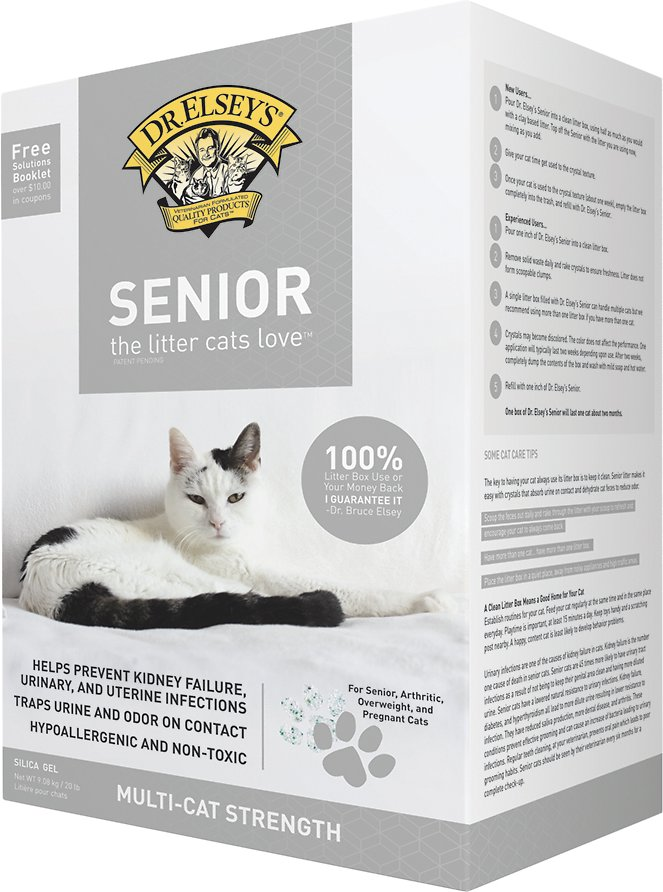 Dr. Elsey's Precious Cat Senior Litter, 8-lb bag Image