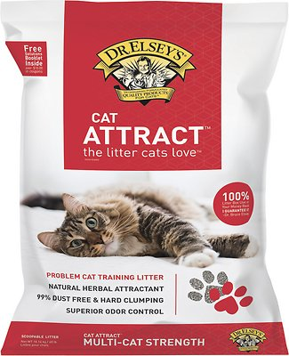 Dr. Elsey's Precious Cat Attract Cat Litter, 40-lb bag