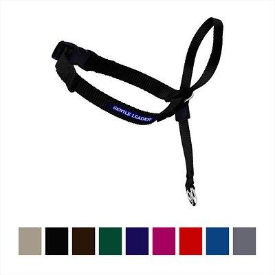 PetSafe Premier Gentle Leader Quick Release Dog Headcollar, Black, Large