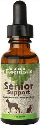 Animal Essentials Senior Support Herbal Formula Dog & Cat Supplement