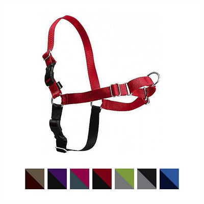 PetSafe Easy Walk Dog Harness, Red/Black, Small