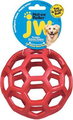 JW Pet Hol-ee Roller Dog Toy, Color Varies, Medium
