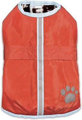 Zack & Zoey Forest Friends Reversible Nor'Easter Dog Coat
