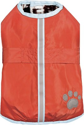 Zack & Zoey Forest Friends Reversible Nor'Easter Dog Coat, X-Small