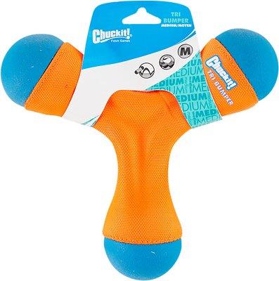 Chuckit! Tri-Bumper Dog Toy, Medium