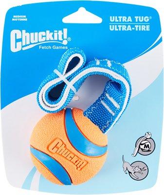 Chuckit! Ultra Tug Ball Dog Toy, Medium