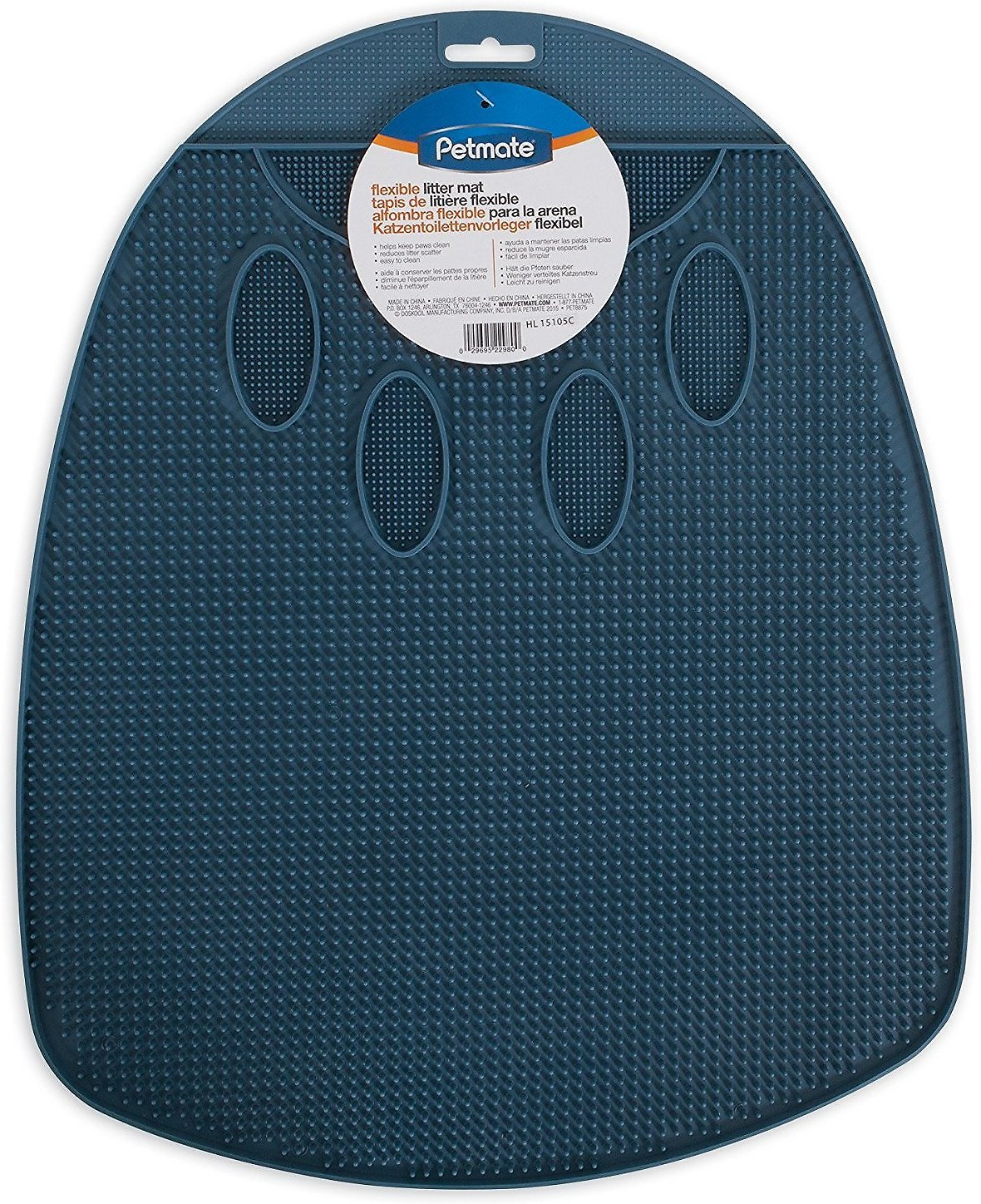 Petmate Flexible Litter Mat, Color Varies
