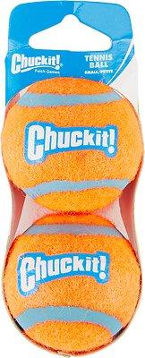 Chuckit! Double-pk Dog Tennis Ball, Small