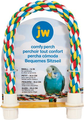 JW Pet Small Comfy Bird Perch, 14-in