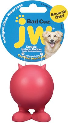 JW Pet Bad Cuz Dog Toy, Color Varies, Small