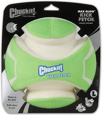 Chuckit! Kick Fetch Max Glow, Large