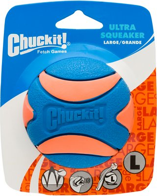 Chuckit! Ultra Squeaker Ball, Large, 1 count