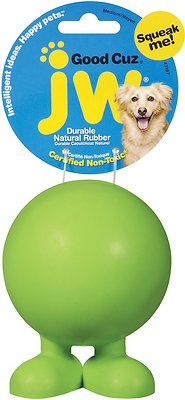 JW Pet Good Cuz Dog Toy, Color Varies, Medium