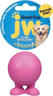 JW Pet Good Cuz Dog Toy, Color Varies, Small
