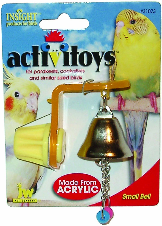 JW Pet Activitoy Birdie Bell Toy, Small/Medium