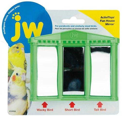 JW Pet Activitoy Birdie House of Mirrors Toy, Small/Medium