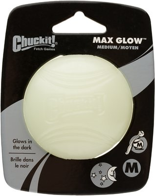 Chuckit! Max Glow Ball, Medium, 1 count