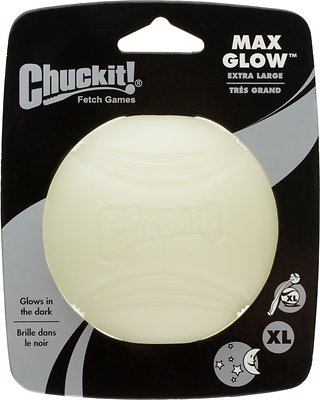 Chuckit! Max Glow Ball, X-Large, 1 count