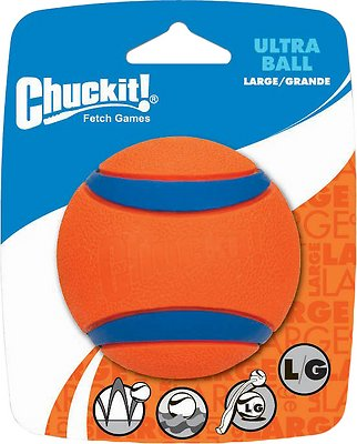 Chuckit! Ultra Rubber Ball Dog Toy, Large