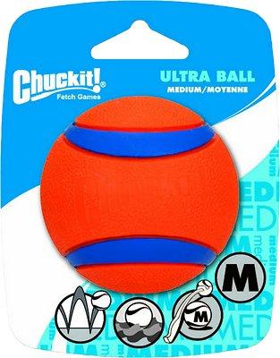 Chuckit! Ultra Rubber Ball Dog Toy, Medium
