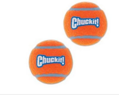 Chuckit! Tennis Ball, Medium, 2-pk