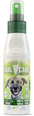 PetzLife Peppermint Oral Care Spray, 4-oz bottle
