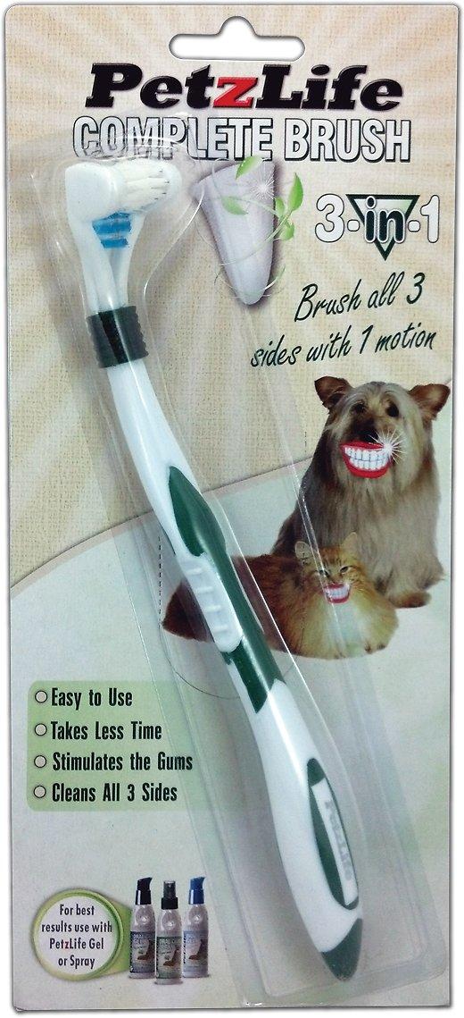 PetzLife Complete 3-in-1 Toothbrush