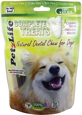 PetzLife Complete Treats Natural Dental Chew for Dogs