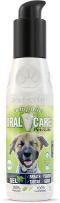 PetzLife Peppermint Oral Care Gel, 4-oz bottle