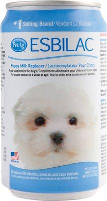 PetAg Esbilac Puppy Milk Replacer Liquid, 8-oz can