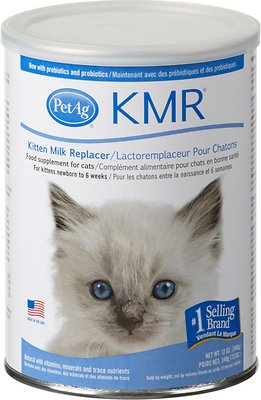 PetAg KMR Kitten Milk Replacer Powder, 12-oz can