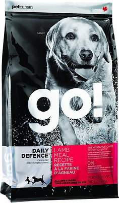 Petcurean Dog Go! Daily Defence Lamb Meal Recipe Dry Dog Food