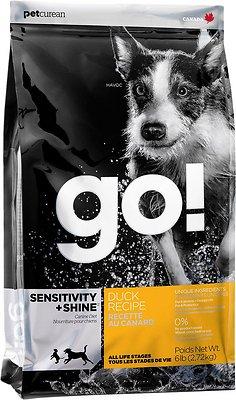 Petcurean Dog Go! Sensitivity + Shine Duck Recipe Dry Dog Food