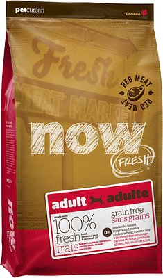 Petcurean Dog Now Fresh Grain-Free Adult Red Meat Recipe Dry Dog Food