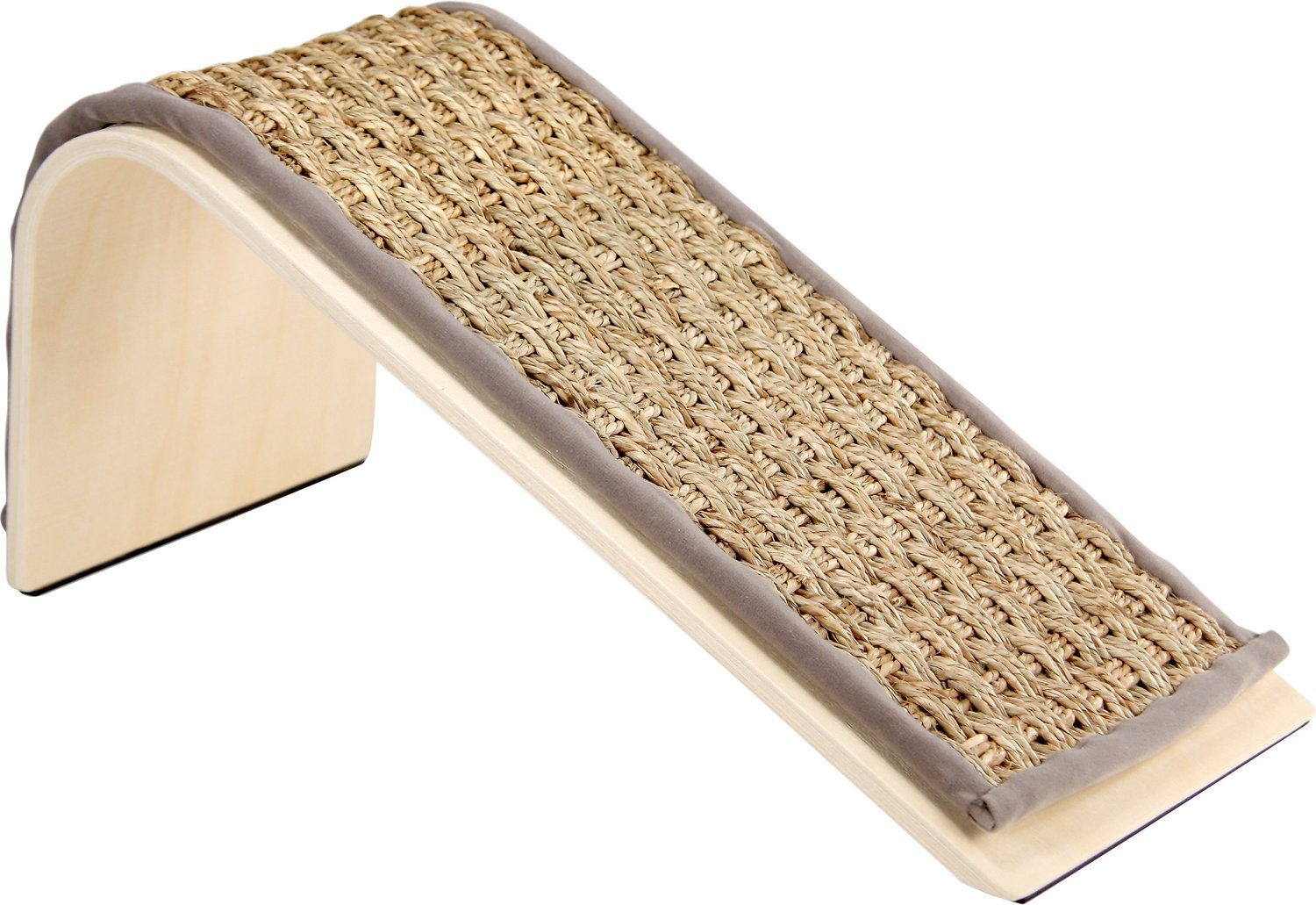Petlinks Sea Ramp Seagrass Scratching Post with Catnip