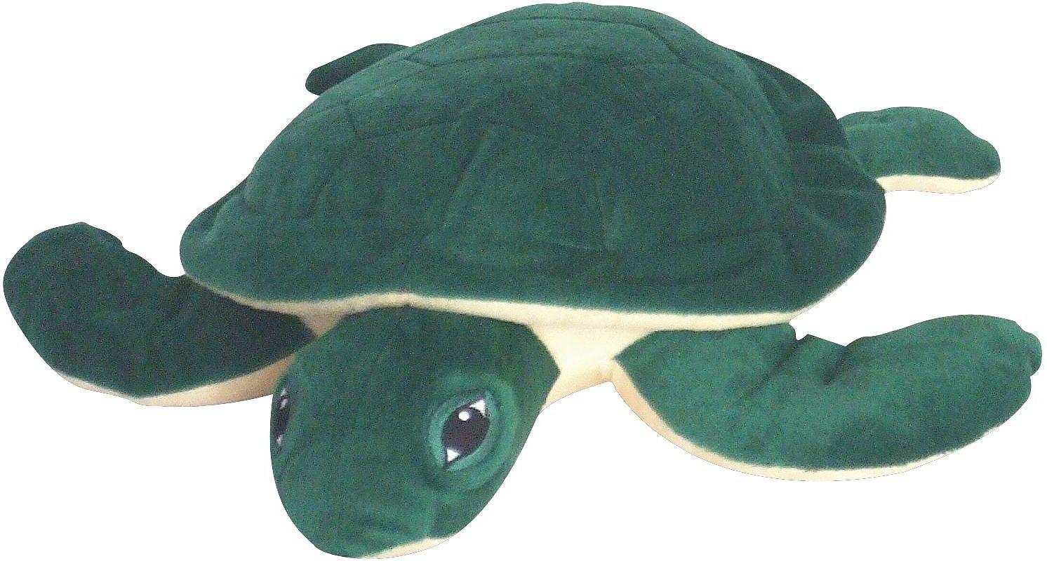 Petlou Sea Turtle Plush Dog Toy, 15-in