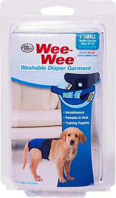 Wee-Wee Washable Dog Diaper Garment