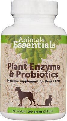 Animal Essentials Plant Enzyme & Probiotics Dog & Cat Supplement