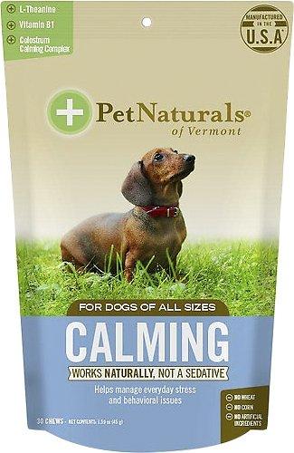 Pet Naturals of Vermont Calming Dog Chews, 30 count