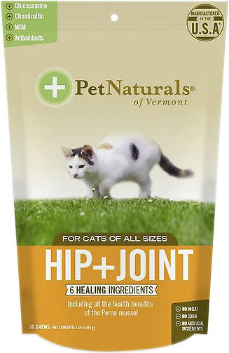 Pet Naturals of Vermont Hip + Joint Cat Chews, 30 count