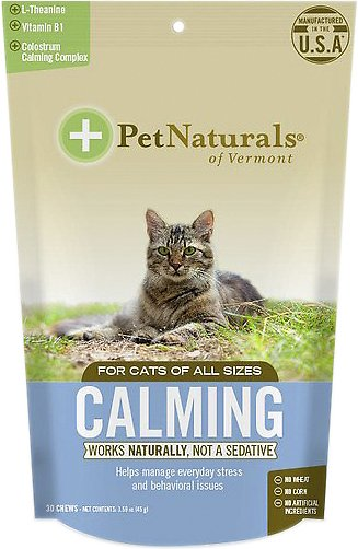 Pet Naturals of Vermont Calming Cat Chews, 30 count