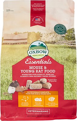Oxbow Essentials Mouse & Young Rat Food, 2.5-lb bag